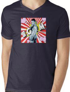 comics man  Mens V-Neck T-Shirt