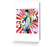 comics man  Greeting Card