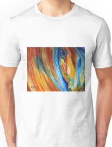 ABSTRACT EQUINE HOPE 2418 Unisex T-Shirt