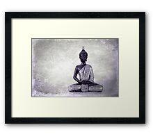 Buddha - JUSTART © Framed Print