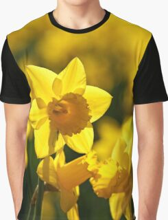 Yellow spring Daffodils Graphic T-Shirt