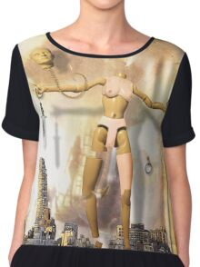 Tarot - Queen of Swords Chiffon Top