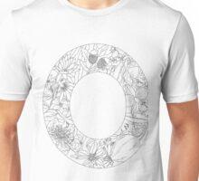Botanical Alphabet Letter O Unisex T-Shirt