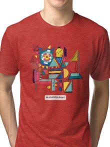 Modern Pop Art Tri-blend T-Shirt