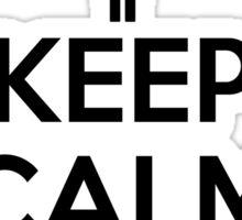 Keep calm and jump Sticker