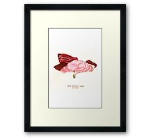 Cattism 29: Give Yourself Room to Rest Framed Print