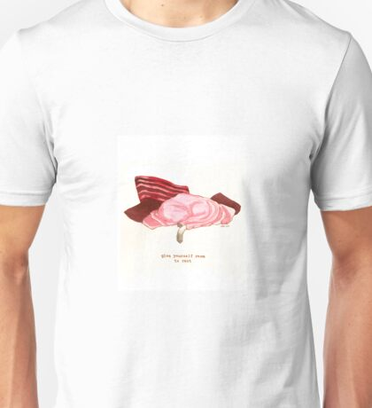 Cattism 29: Give Yourself Room to Rest Unisex T-Shirt
