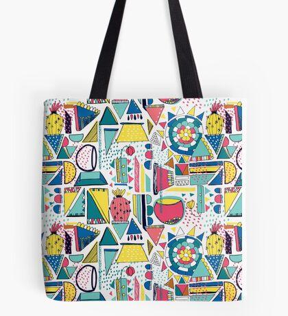 Modern Pop Art Tote Bag