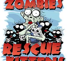 Even Zombies Rescue Kittens by AngelGirl21030