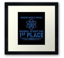 Science Things Framed Print