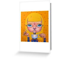 Broken Princesse Greeting Card
