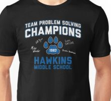 1983 Hawkins Middle School Team Problem Solving Champions Unisex T-Shirt