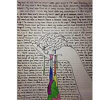 Self-Titled Brain Photographic Print