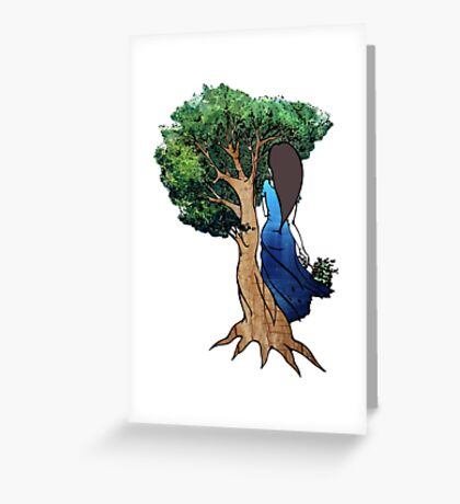 Little Two Eyes Greeting Card
