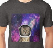 Galaxy Space Kitten Unisex T-Shirt