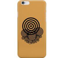 Geometrical design bullseyes iPhone Case/Skin