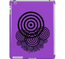 Geometrical design bullseyes iPad Case/Skin