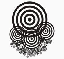 Geometrical design bullseyes Kids Clothes
