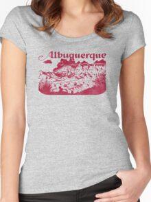 Albuquerque Women's Fitted Scoop T-Shirt