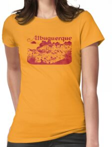 Albuquerque Womens Fitted T-Shirt