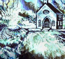 The Little Church in the Wood Sticker
