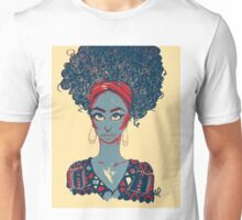 Black Woman Unisex T-Shirt