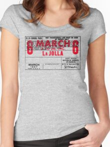 La Jolla Pass Women's Fitted Scoop T-Shirt