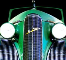 1939 LaSalle Cadillac Sticker