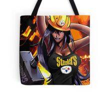 Sexy Steelers Fan Tote Bag