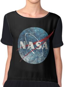 NASA Space Agency Ultra-Vintage Chiffon Top