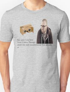 unbox therapy poor review Unisex T-Shirt