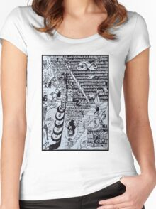 The Library  Women's Fitted Scoop T-Shirt