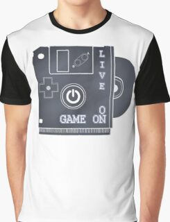 Live ON Game ON Graphic T-Shirt
