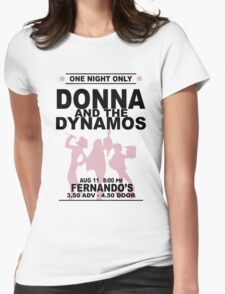 Donna and the Dynamos Womens Fitted T-Shirt