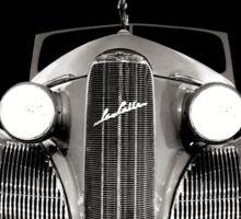 1939 LaSalle Cadillac BW Sticker