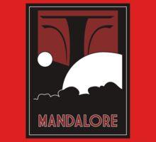 Mandalore Art Deco One Piece - Short Sleeve