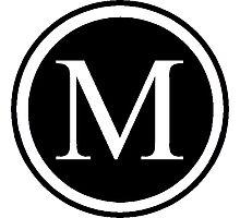 Monogram M Photographic Print