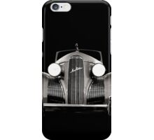 1939 LaSalle Cadillac BW iPhone Case/Skin