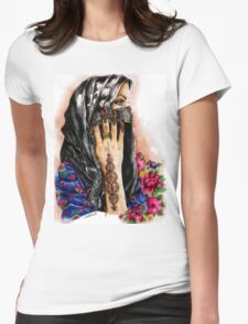 henna collection: Lathma Womens Fitted T-Shirt