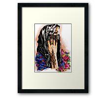 henna collection: Lathma Framed Print