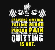 Quitting Is Not Acceptable (Goku Squat) Tank Top