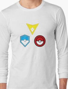 Pokemon Go- United Teams Long Sleeve T-Shirt