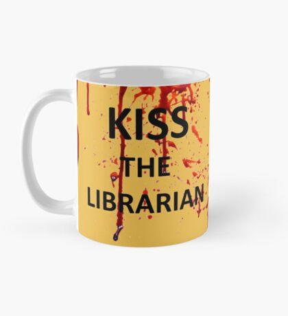 Spike's KISS THE LIBRARIAN Mug!  Mug