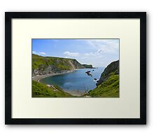 Man of War Bay Framed Print