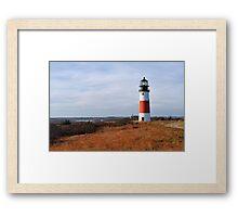 Sankaty Head Lighthouse II Framed Print