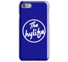 Samsung and iPHONE The Hylife Circular Logo - Blue iPhone Case/Skin