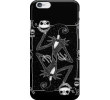 The Pumpkin King iPhone Case/Skin