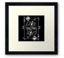 The Pumpkin King Framed Print