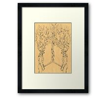 Woods in The Woods Framed Print