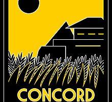 Concord Dawn Art Deco by Karlika